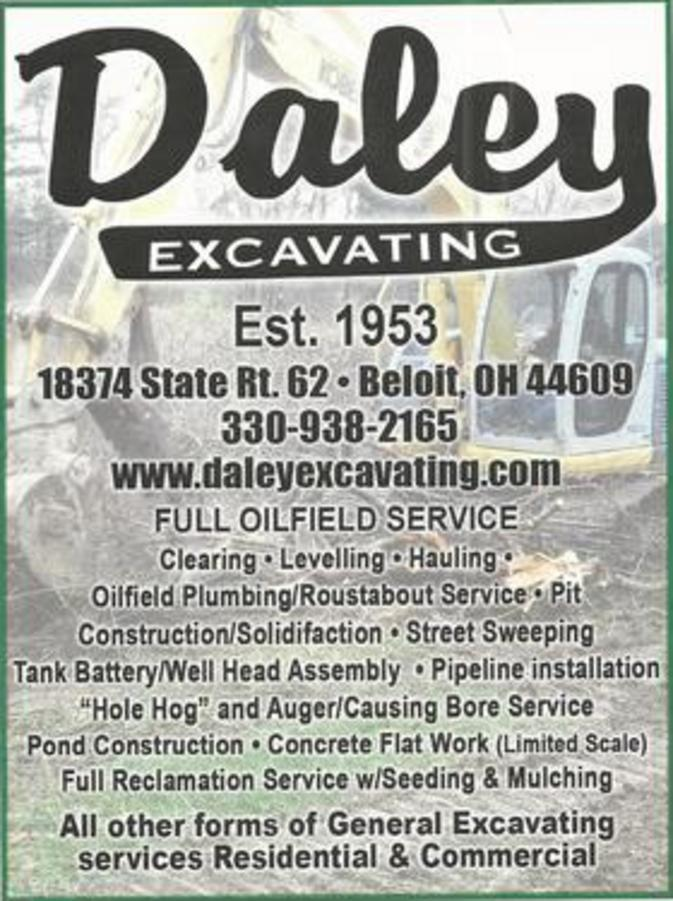 Daley Excavating & Services - Homestead Business Directory